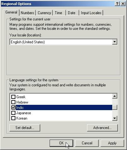 Windows XP SP2 Configuration