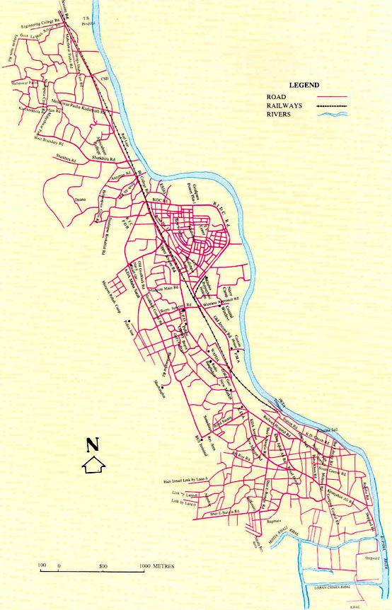 Khulna City Corporation Official Website Khulnadiary Map - Map of khulna city